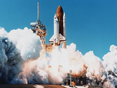 Launch of Space Shuttle Columbia from Kennedy Space Center, Florida, USA, 4 April 1997--Photographic Print