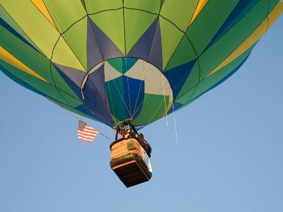 Launching Hot Air Balloons, The Great Prosser Balloon Rally, Prosser, Washington, USA-Jamie & Judy Wild-Photographic Print
