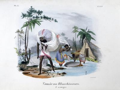 Launderers, 1828-Jean Henri Marlet-Giclee Print