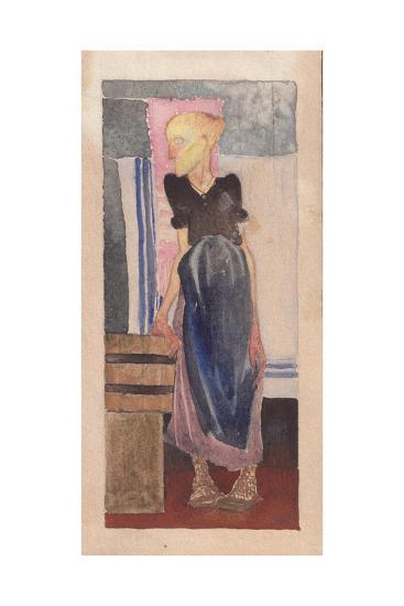 Laundress, 1925-Galina Konstantinovna Shubina-Giclee Print