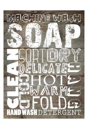 Laundry 1-Sheldon Lewis-Framed Art Print