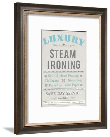 Laundry II-The Vintage Collection-Framed Art Print