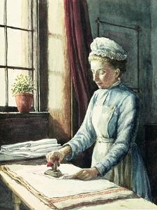 Laundry Maid, circa 1880