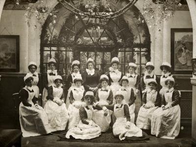 Laundry Staff at Whittingham Asylum, Near Preston, Lancs-Peter Higginbotham-Photographic Print