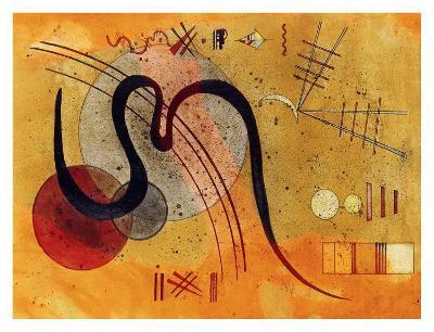 Launelinie-Wassily Kandinsky-Giclee Print