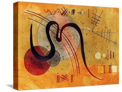 Launelinie-Wassily Kandinsky-Stretched Canvas Print