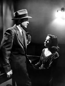LAURA, 1944 directed by OTTO PREMINGER Dana Andrews and Gene Tierney during the interrogation scene