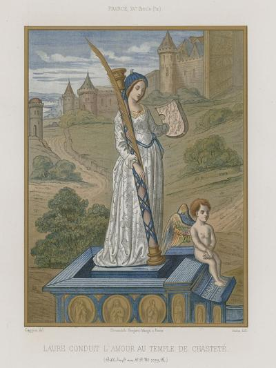 Laura at the Temple of Chastity--Giclee Print