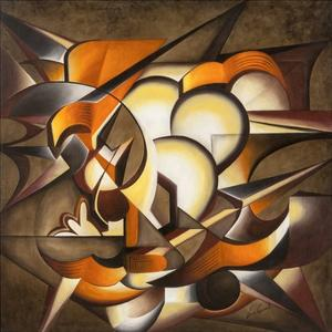 Dark Explosion by Laura Ceccarelli