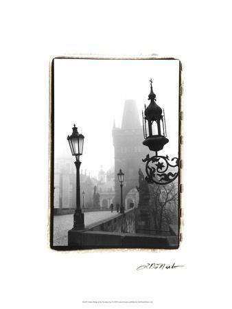 Charles Bridge in Morning Fog I