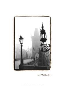 Charles Bridge in Morning Fog I by Laura Denardo