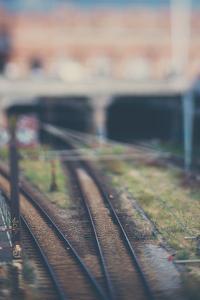 Berlin Railway by Laura Evans