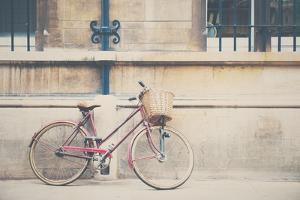 Bike Parked in Street by Laura Evans