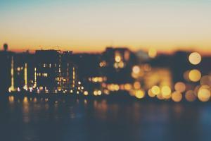 Copenhagen at Night by Laura Evans
