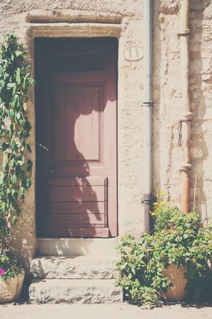 French Doorway in Summer
