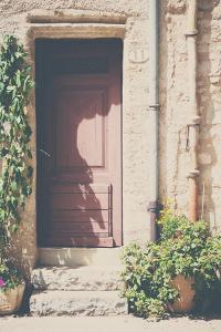 French Doorway in Summer by Laura Evans