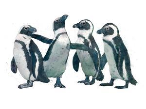 Pen Guin Party by Laura Graves