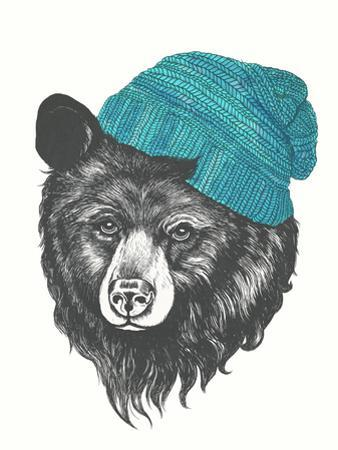 Zissou The Bear Blue by Laura Graves