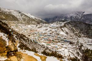 Basecamp, Mount Everest, Himalayas, Nepal, Asia by Laura Grier