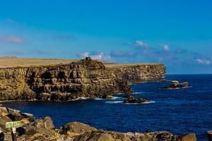 Cliffs of Espanola Island, Galapagos Islands, UNESCO World Heritage Site, Ecuador, South America by Laura Grier