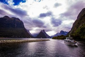 Fjords, Fjordlands National Park, UNESCO World Heritage Site, South Island, New Zealand, Pacific by Laura Grier