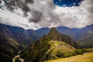 Machu Picchu Incan Ruins, UNESCO World Heritage Site, Sacred Valley, Peru, South America by Laura Grier