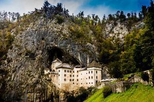 Predjama Castle, Slovenia, Europe by Laura Grier