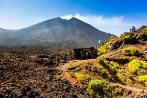 The Lava Store at the base of Pacaya Volcano in Guatemala City, Guatemala, Central America by Laura Grier