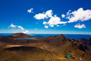 The Tongariro Crossing, UNESCO World Heritage Site, North Island, New Zealand, Pacific by Laura Grier