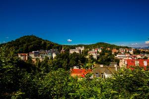 The Village of Loket in Karlovy Vary, Bohemia, Czech Republic, Europe by Laura Grier