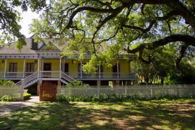 Laura' Historic Antebellum Creole Plantation House, Louisiana, USA-Cindy Miller Hopkins-Photographic Print