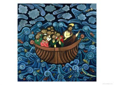 Jesus Calms the Storm, 1995