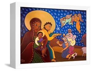 The Holy Family at Nativity, 2007 by Laura James