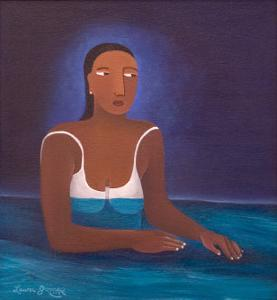 Woman in Water, 2004 by Laura James