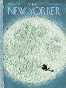 New Yorker Cover - October 30, 1965 by Laura Jean Allen