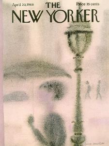 The New Yorker Cover - April 20, 1968 by Laura Jean Allen
