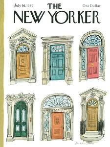 The New Yorker Cover - July 16, 1979 by Laura Jean Allen