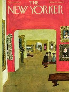 The New Yorker Cover - November 21, 1970 by Laura Jean Allen