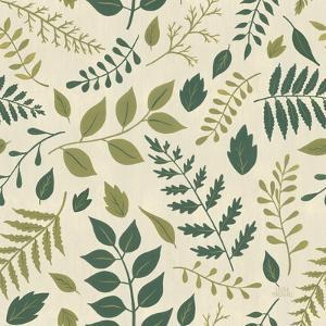 Autumn Garden Pattern VII by Laura Marshall