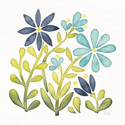 Garden Getaway Flowers II by Laura Marshall