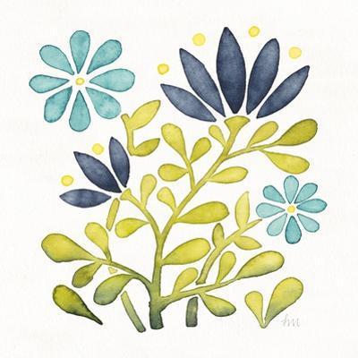 Garden Getaway Flowers III by Laura Marshall