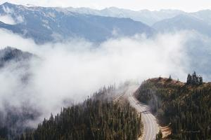 Hurricane Ridge III by Laura Marshall