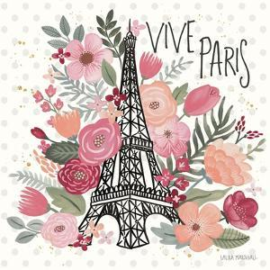 Paris is Blooming III by Laura Marshall