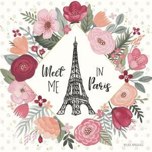 Paris is Blooming V by Laura Marshall