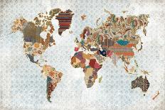 World Traveler I-Laura Marshall-Art Print