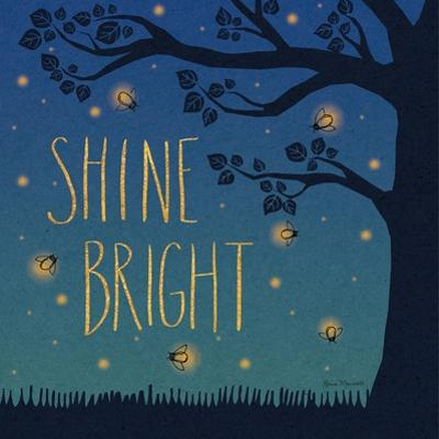 Twilight Fireflies II by Laura Marshall