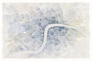 Watercolor Wanderlust London by Laura Marshall