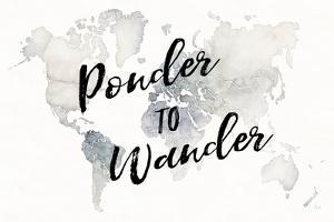 Watercolor Wanderlust Ponder by Laura Marshall