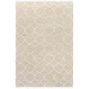 """Laural Area Rug - Beige/Ivory 5' x 7'6"""""""