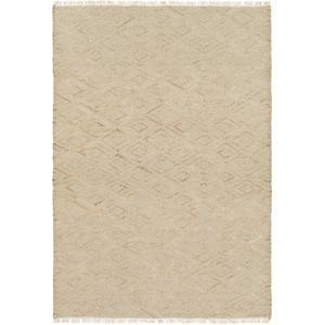 "Laural Area Rug - Light Gray/Beige 5' x 7'6"""